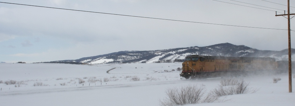 BNSF and the Snow