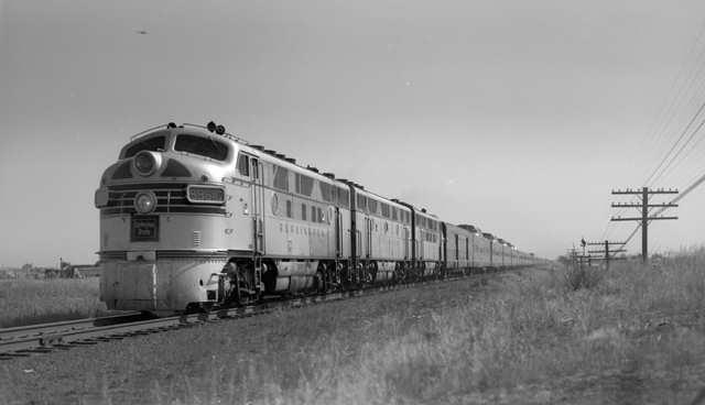 California Zephyr, 1951