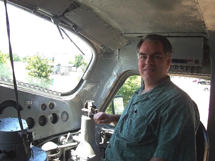 Ryan at the controls