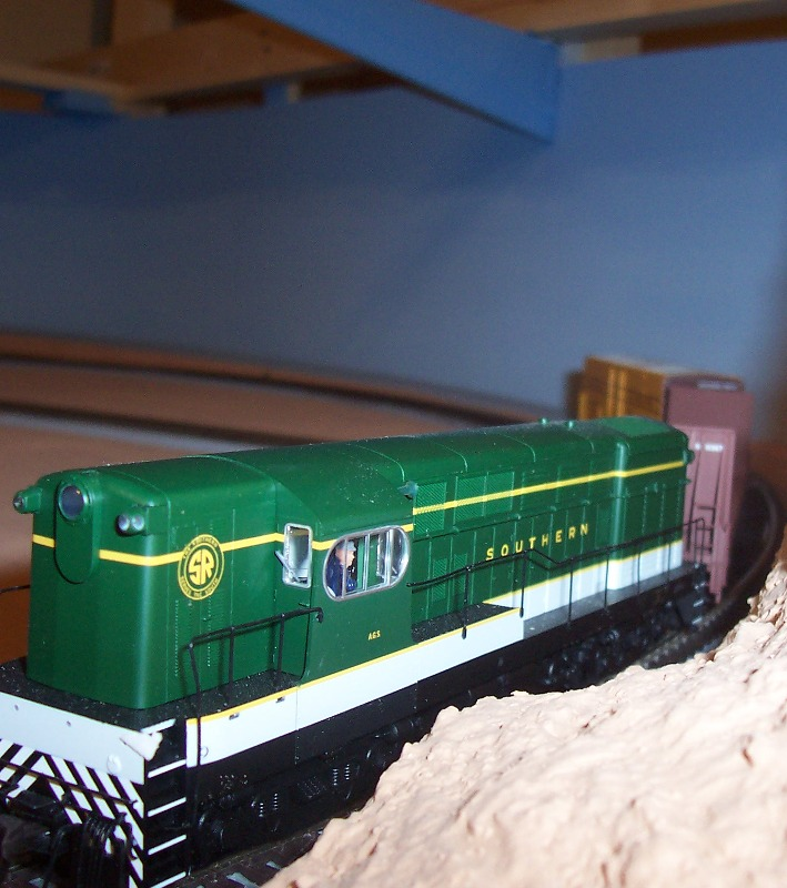 Southern Loco Local Freight