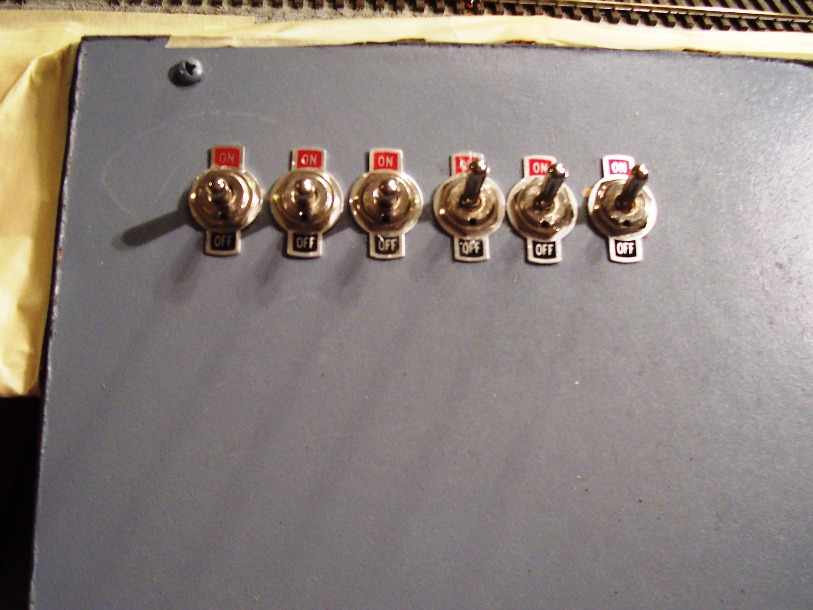 Control Panel with 6 SPST switches