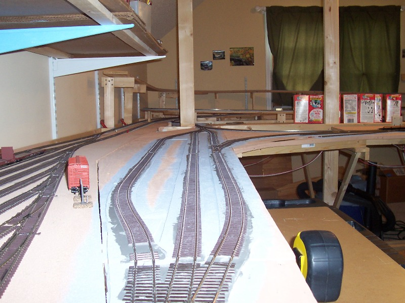 Passenger siding section