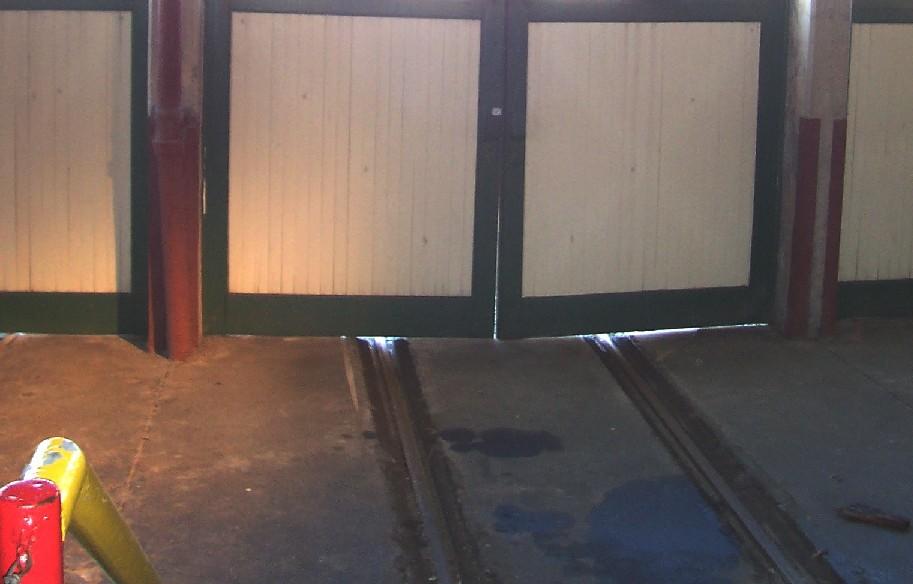 Door and track