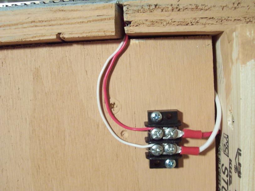 Terminal wiring block